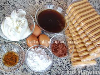 Tiramisu cu mascarpone ingrediente reteta