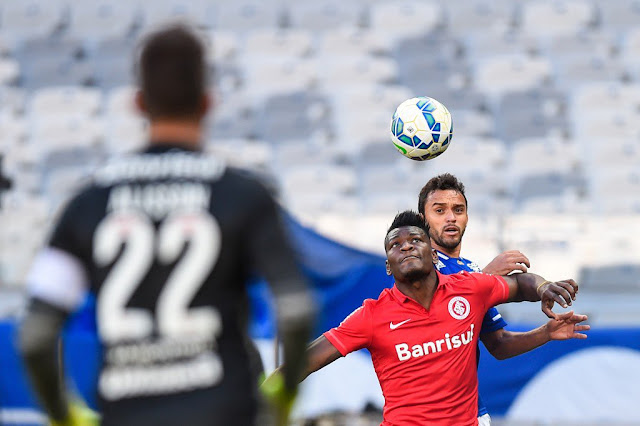 O Inter segurou o Cruzeiro e saiu de Belo Horizonte com um ponto ganho (foto: Fred Magno/Light Press/Cruzeiro)