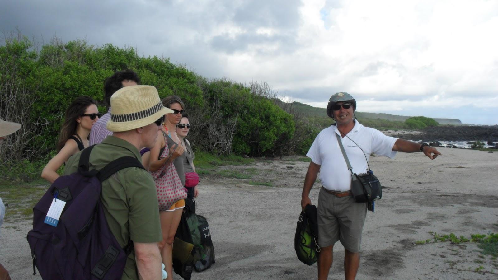 galapagos walking tours