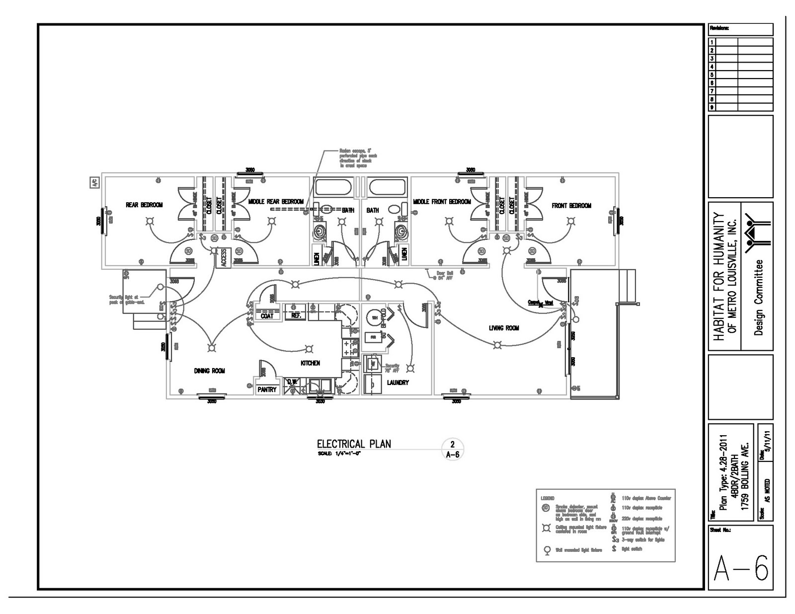 House plans construction documents house plans for Leed home plans