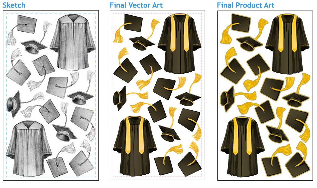 bloggity sketch blog by melinda beavers: New Work: Sticker Sunday ...