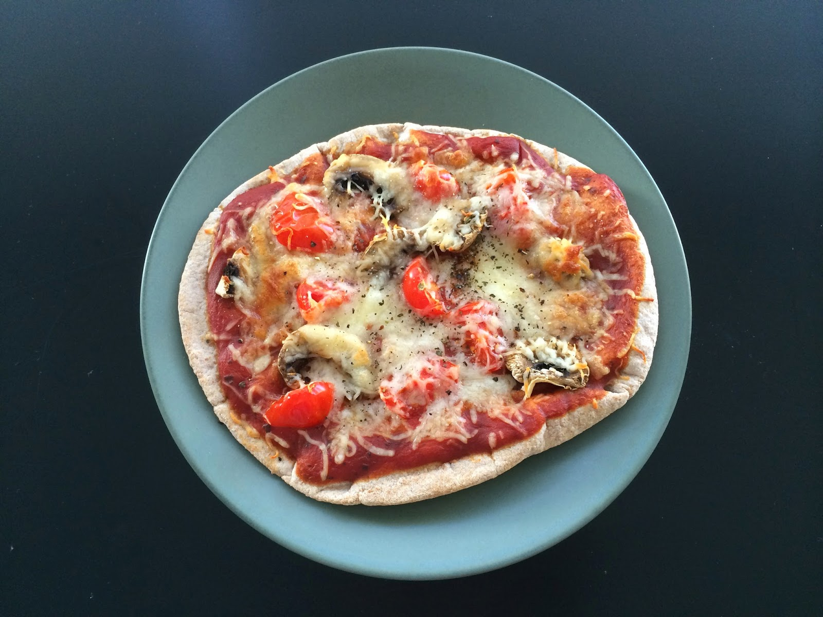 Project Soiree - Tasty Tuesday - Vegetarian - Pita Pizza