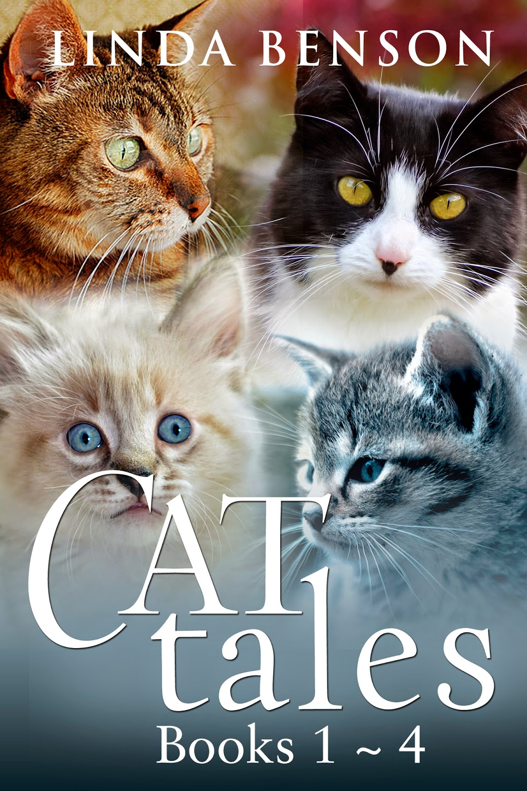 http://www.amazon.com/Cat-Tales-Books-Linda-Benson-ebook/dp/B00P5KMD28/ref=sr_1_2?s=digital-text&ie=UTF8&qid=1415129387&sr=1-2&keywords=Cat+Tales