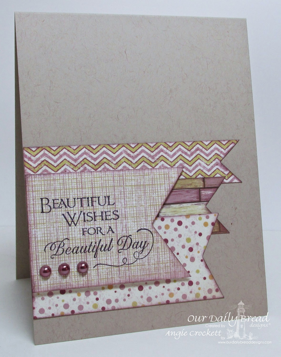 ODBD Sentiments Collection 2, Rustic Beauty Designer Paper, Card Designer Angie Crockett