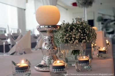 dekoracja weselna Marena Mędzywodzie