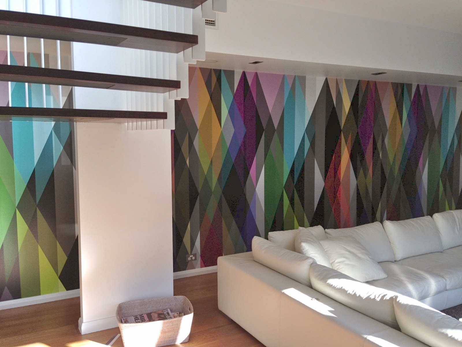 Wallpaper Hung By Cutting Edge Wallpapering Melbourne