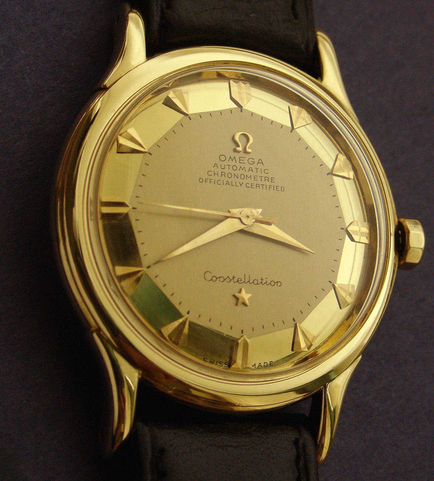 While the past four years have been plagued by prophesies of impending  financial doom, the market in quality vintage Omega watches has remained  buoyant.