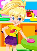 Блестящая уборка - Онлайн игра для девочек