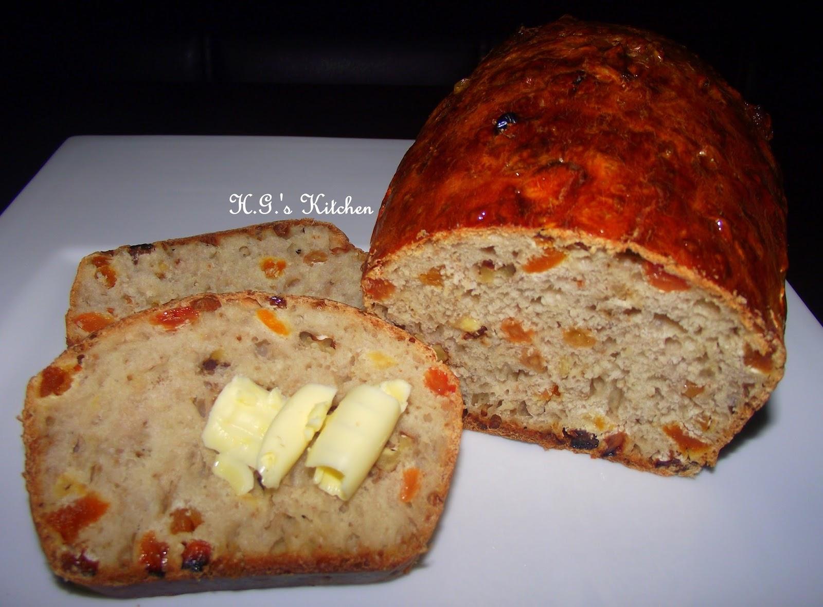 Meyveli ekmek tarifi