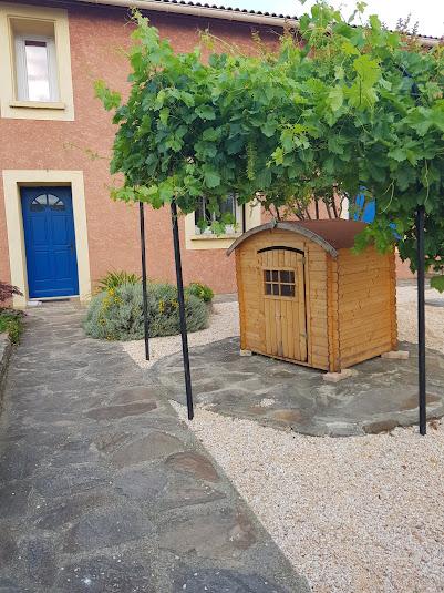 Villa olivier - Côté entrée de la maison