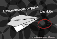 pliage avion en papier