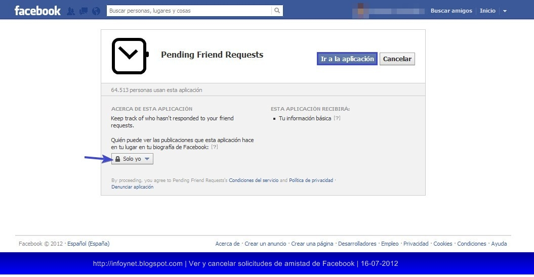 how to delete a pending facebook friend request