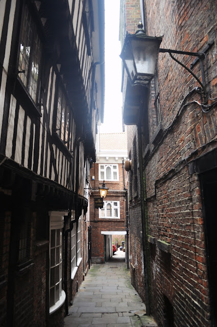 Alley in York