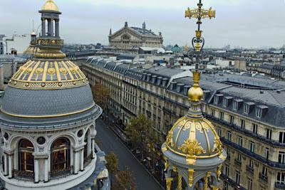 Paris'te alisveris merkezi
