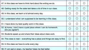 survey questions for parents