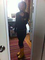 Hunter Boots Yellow4