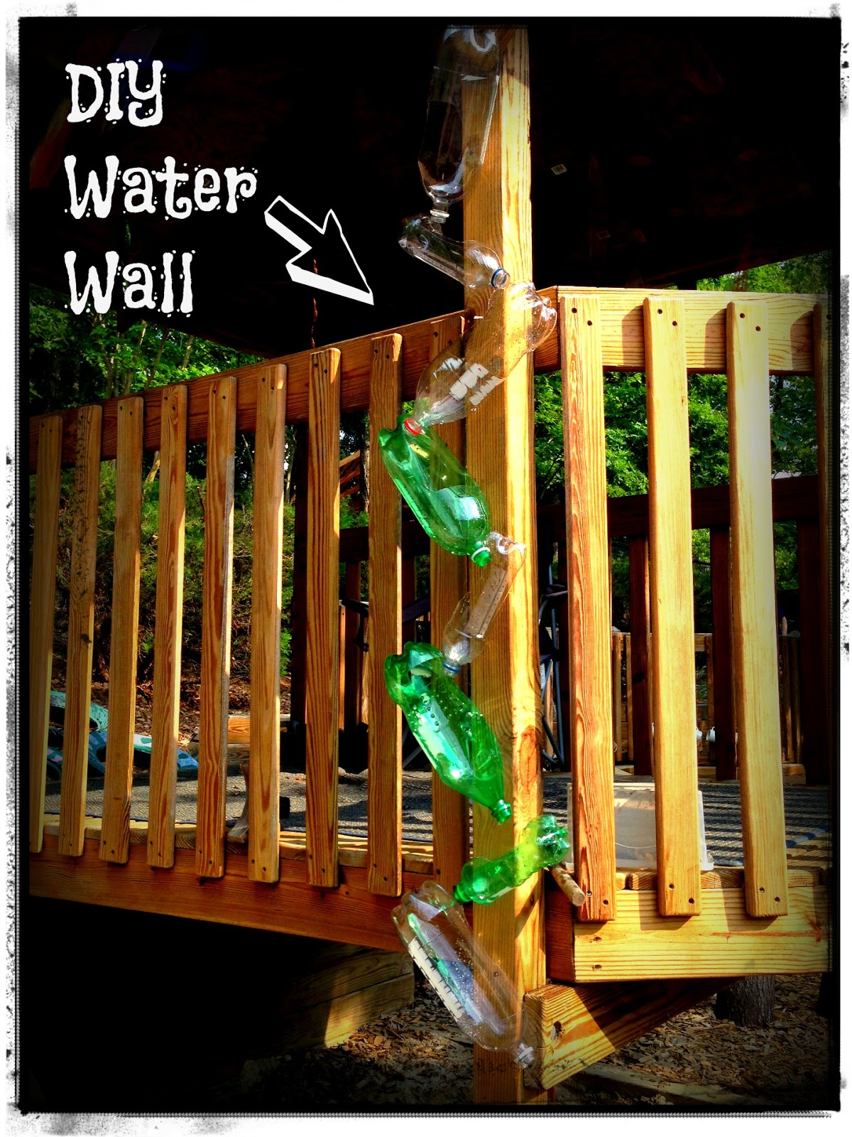 Build a rain curtain water fountain with our diy share Diy wall water feature