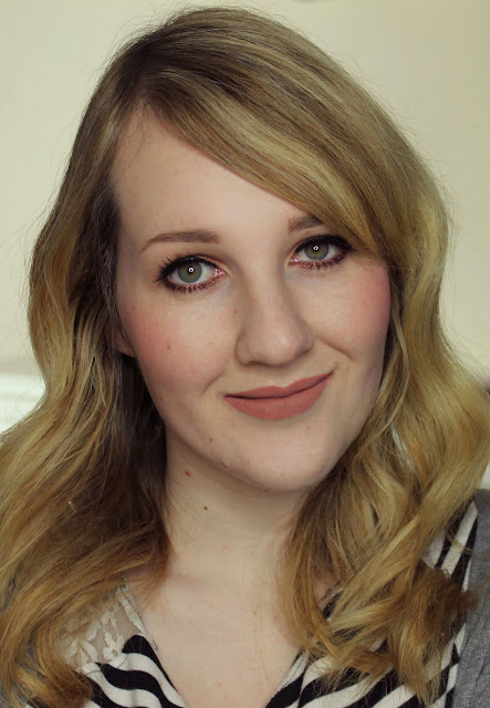 Darling Girl Pucker Paint Matte Lip Cream - Tea Time lipstick swatches & review