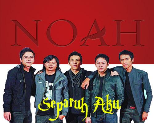Lirik Lagu - Separuh Aku - NOAH