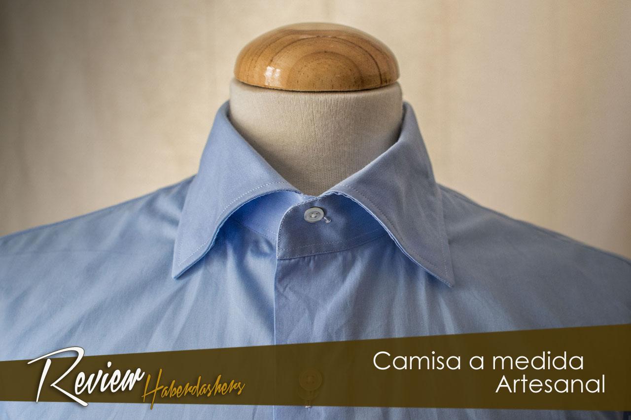Review Camisa Artesanal a medida de Haberdashers.