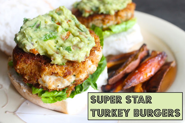 wheat free healthy turkey burger