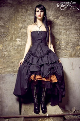 Wedding Dress Handmade Victorian, Steampunk, Gothic Wedding Dresses