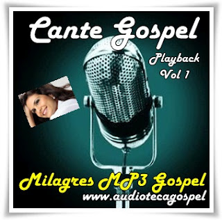 Aline Barros - Cante Gospel - (Playback) - (Vol.01)