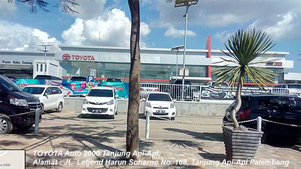 Harga Mobil TOYOTA Auto2000 Tanjung Api Api, PALEMBANG