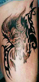Demon Tattoo Ideas - Scary Demon Tattoo Gallery