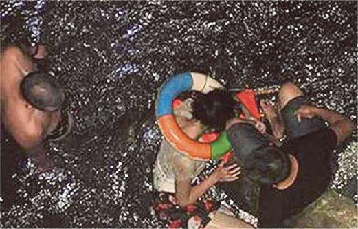 tidak jadi bunuh diri kerana sungai kotor