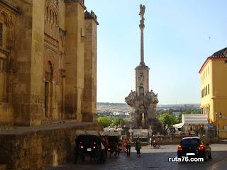 Triunfo de San Rafael cordoba andalucia