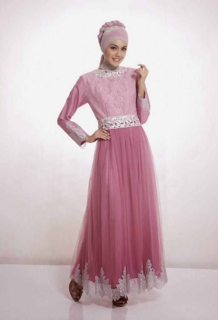 Kumpulan foto model baju kebaya gamis pesta trend baju Gambar baju gamis pesta 2014