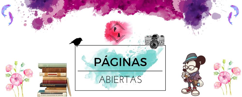 Páginas Abiertas~ Blog Literario