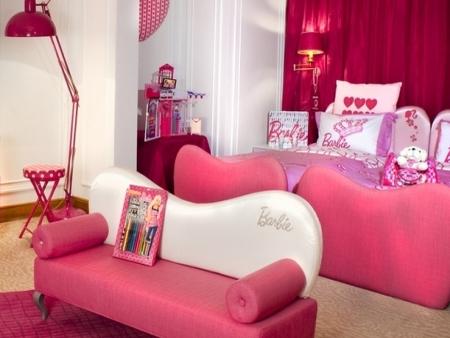 Garoto barbie brincar para todos hotel tem quarto for Hotel barbie