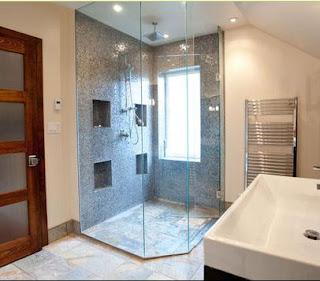 Ba os modernos ba o con ducha for Banos bonitos con ducha
