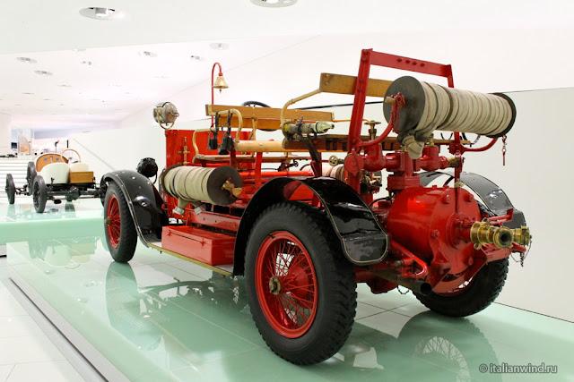 Austro-Daimler Motorspritze, 1912 г.