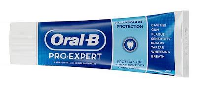 Amostra Gratis Creme Dental Oral-B Pro-Expert