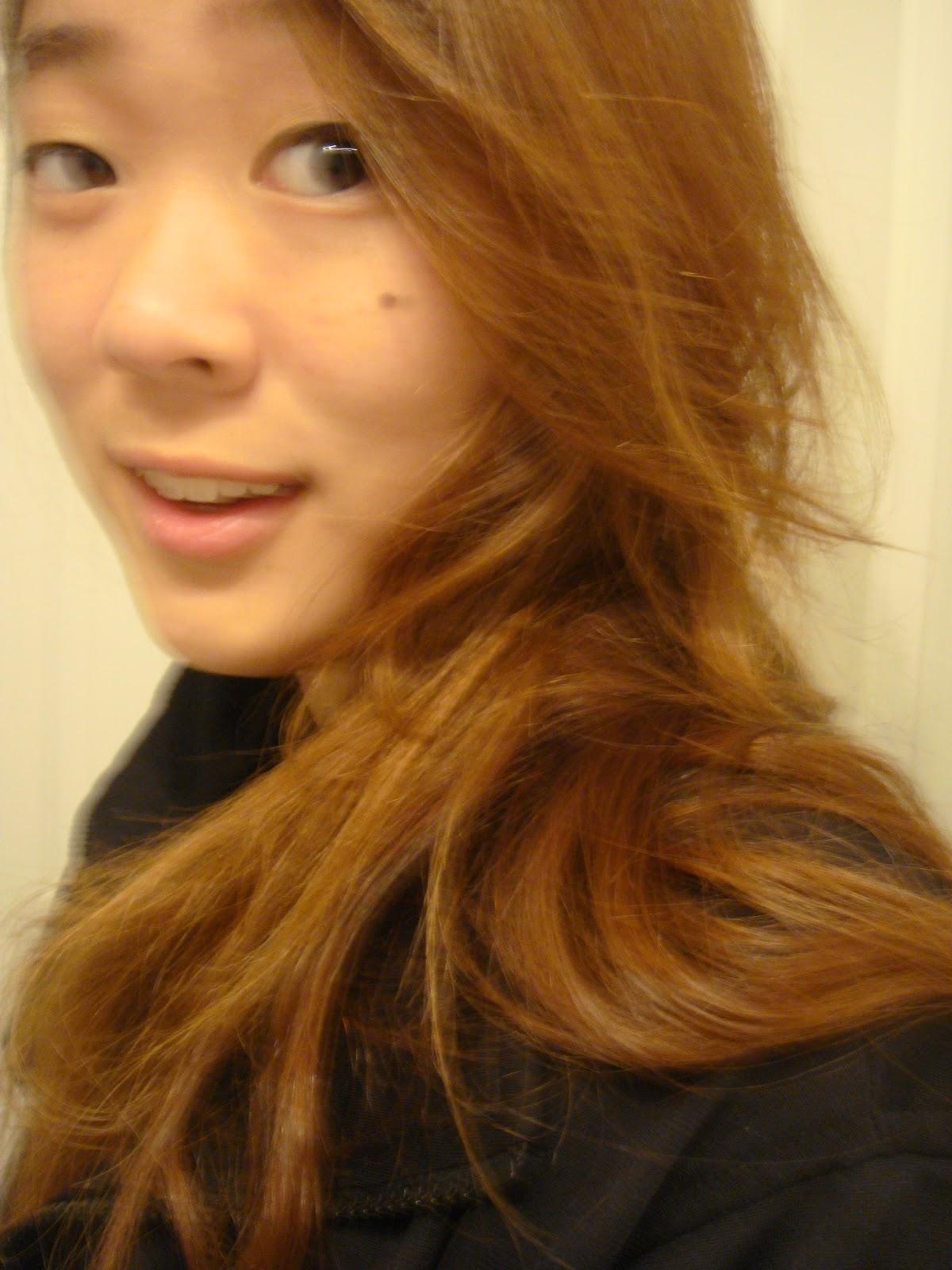 Dark Brown Orange Hair Color My hair is orange-brown as i