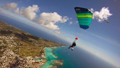 Cours de parachutisme en Guadeloupe