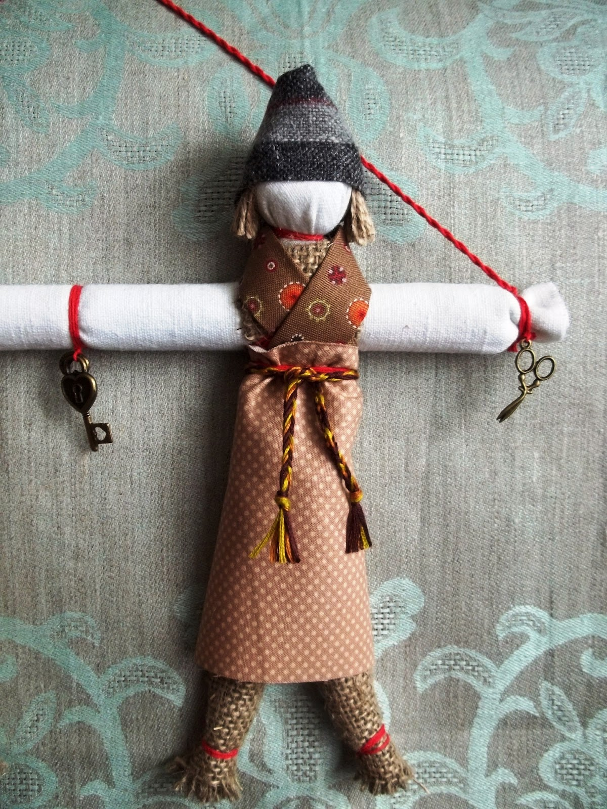 Кузьма и демьян куклы своими руками
