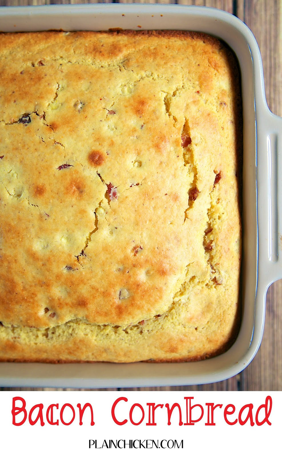 Cornbread With Bacon Crust Recipe — Dishmaps
