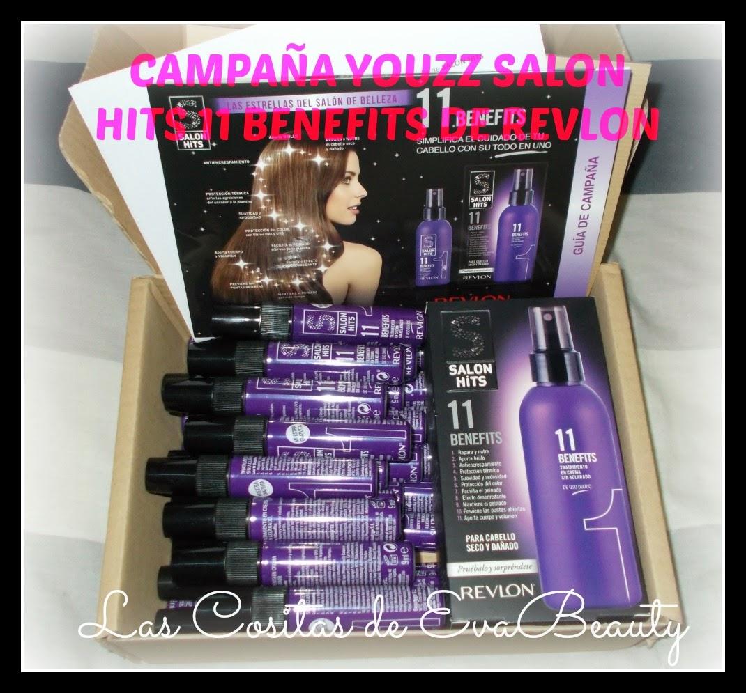 Nueva Campaña Youzz- Salon Hits 11 Benefits de Revlon.