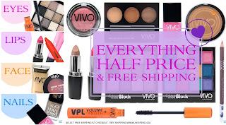 VIVO Cosmetics - Sconto 50% su tutto e spedizione gratuita