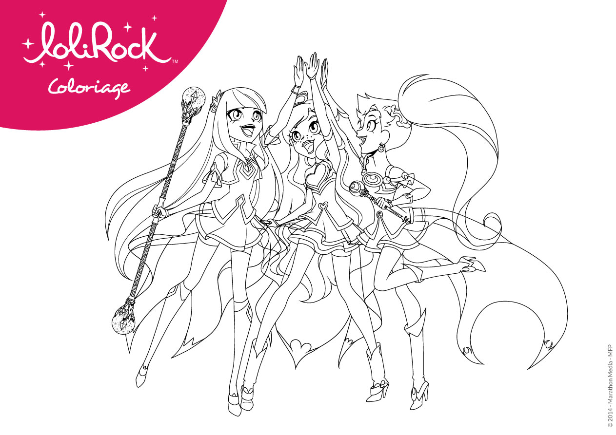 Magic LoliRock Activities