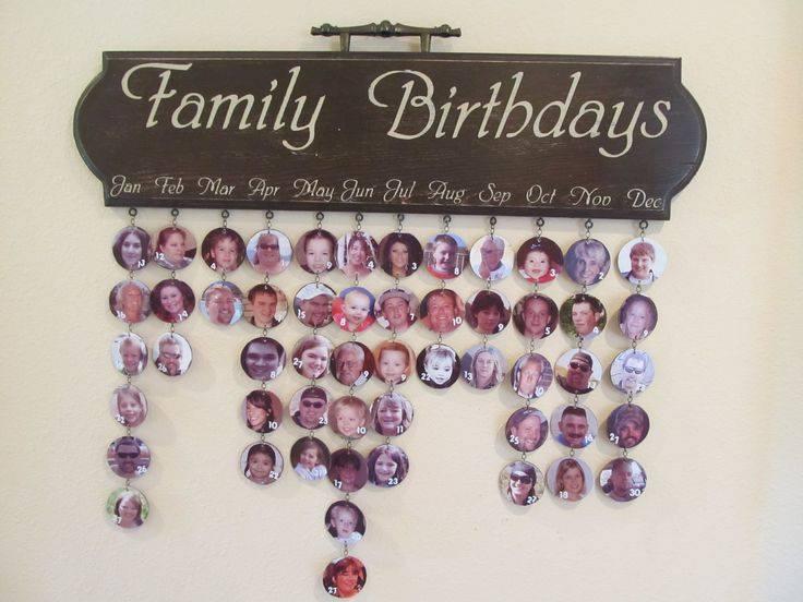 Diy Birthday Calendar : Diy birthday calendar craftbnb