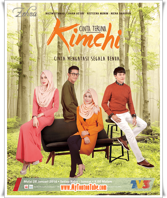 Drama Cinta Teruna Kimchi (2016) TV3 - Full Episode