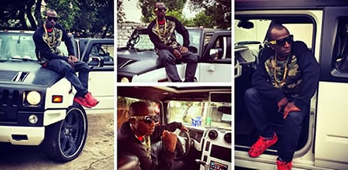 BBafrica Hotshots Macky2 Buys New Car Zambia Photos