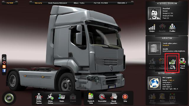Euro Truck Simulator 2 Türkiye Yaması