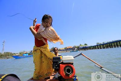 gili beleq, gili re, lombok, nelayan, perempuan