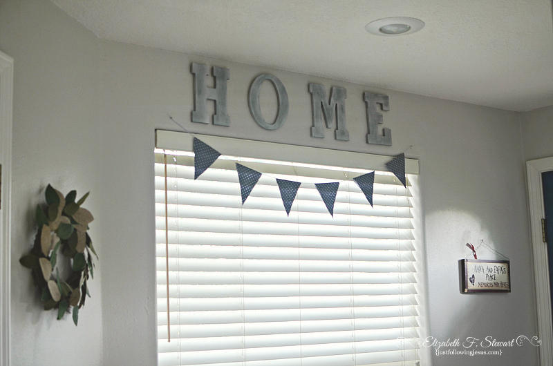 frugal faux metal letters for wall decor